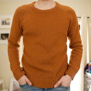 Burnt Orange Urban Outfitters Sweater